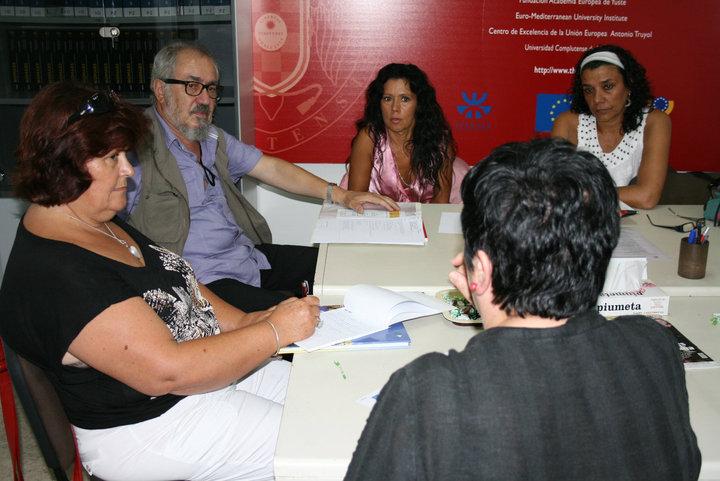 La plataforma de mujeres artistas estrena su nueva sede en for Oficina relaciones internacionales ucm